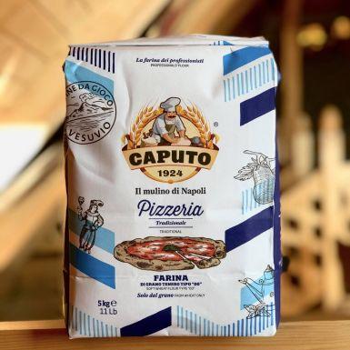 Włoska mąka do pizzy 5 kg - Caputo