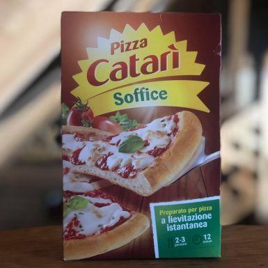 Włoska mieszanka ciasta do wypieku pizzy, miękka -  Catari