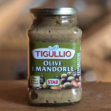 Włoski majonez z migdałami i oliwkami - Tigullio