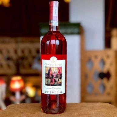 Wino różowe Libiąż Alden, Polska