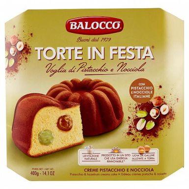 Włoska babka z pistacjami i orzechami laskowymi - Balocco