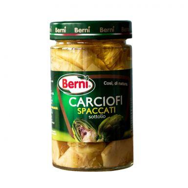 Carciofi Spaccati - karczochy w słodko-winnej zalewie