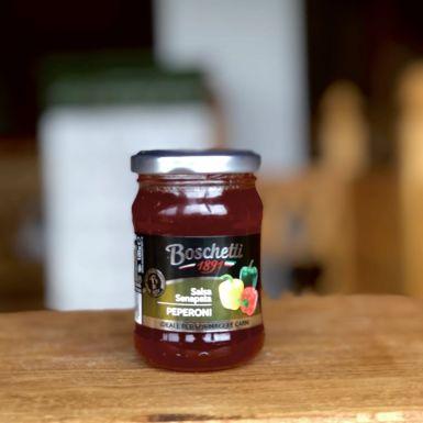 Włoska słodka salsa z pikantnej papryki - Boschetti