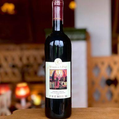 Wino czerwone Libiąż Cabernet Cantor, Polska