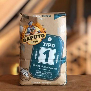 Włoska mąka pszenna Tipo 1 z zarodkami pszenicy - Caputo