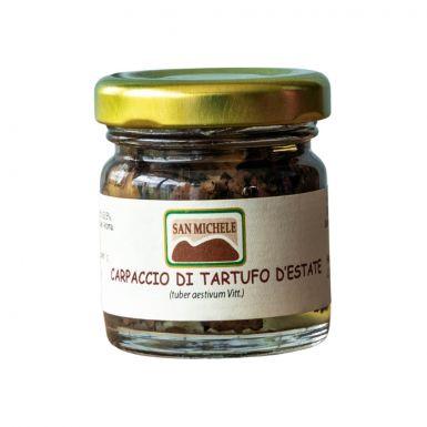 Carpaccio z trufli w oliwie