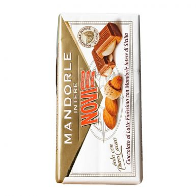 novi czekolada z migdałami