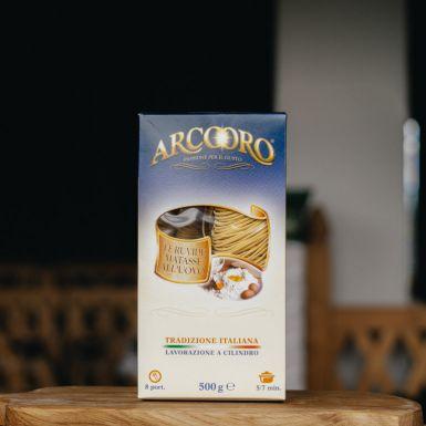 Spaghetti Arcooro to makaron jajeczny z mąki z twardej pszenicy durum