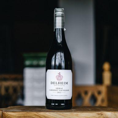 Wino czerwone wytrawne Delheim, RPA