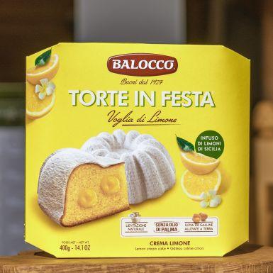 Babka Torte in Festa z kremem cytrynowym