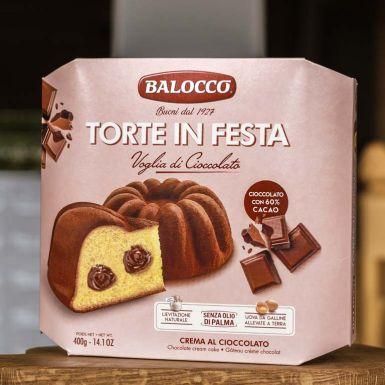 Babka Balocco nadziana jest kremem czekoladowym
