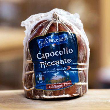 Capocollo Picante - dojrzewająca karkówka pikantna