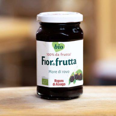 Włoska konfitura z jeżyn bez cukru BIO - Rigoni di Asigo