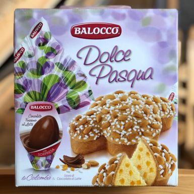 Balocco Dolce Pasqua + czekoladowe jajko