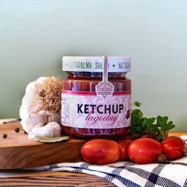 Ketchup łagodny bez konserwantów