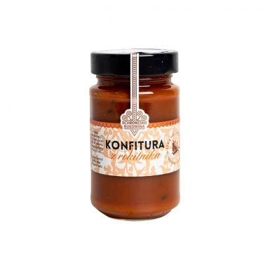 Konfitura z rokitnika bez konserwantów - tylko dwa składniki: rokitnik i cukier