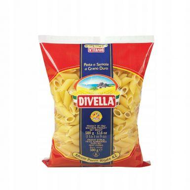 Włoski makaron Mezze Penne Rigate nr. 42 - Divella