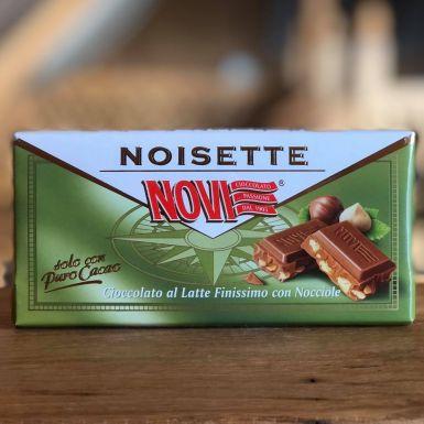 Noisette - włoska czekolada mleczna z orzechami