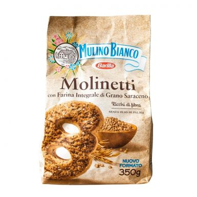 Mulino Bianco Molinetti ciastka pełnoziarniste.