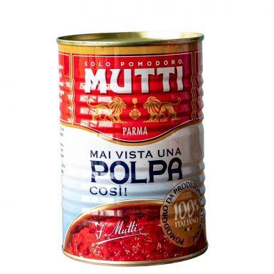 Pulpa Mutti to pomidory bezpośrednio importowane z Włoch