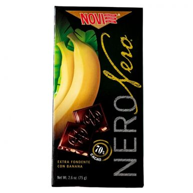czekolada novi nero gorzka z bananami
