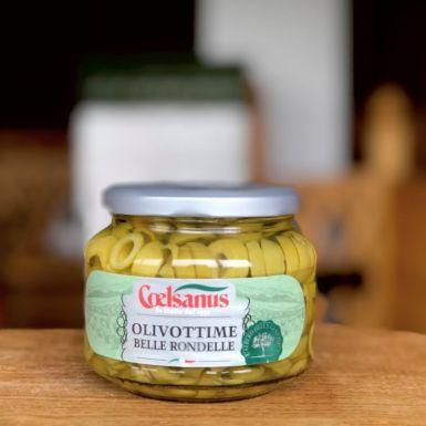 Coelsanus włoskie zielone oliwki krojone
