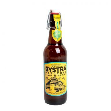 Bystra pszczoła to piwo z trzema rodzajami miodu wlane do butelki typu krachla