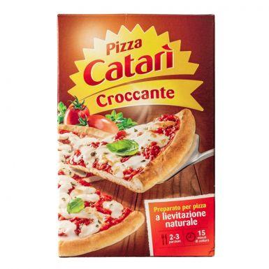 Pizza catari croccante chrupiąca