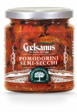 Włoskie pomidory suszone bez dodatków - Coelsanus
