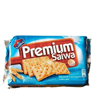 Krakersy włoskie Saiwa niesolone