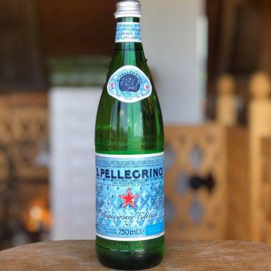San pellergino - woda gazowana włoska w szkle