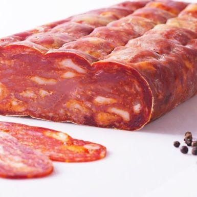 Spianata Piccante plasterki 200 g salami pikantne
