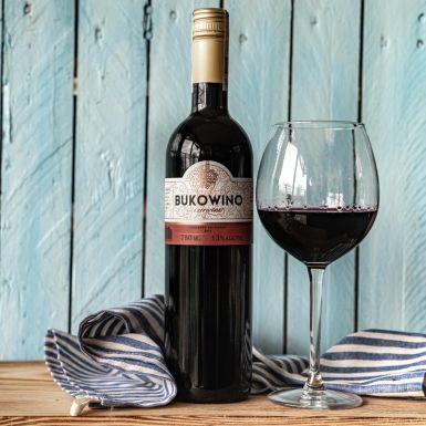 Wino Bukowino czerwone