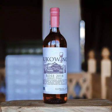 Wino Bukowino różowe