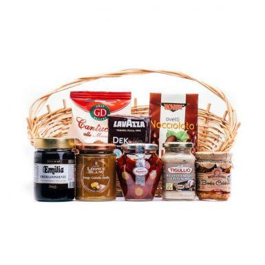 Zestaw słodkości - produkty trzeba tylko spakować do skrzynki, która stanowi część zestawu