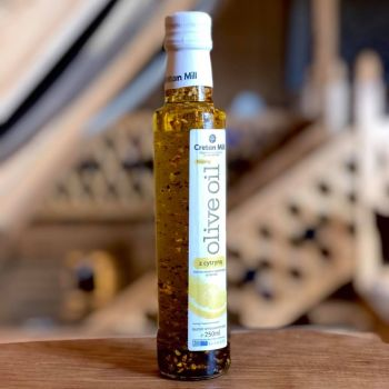 Cretan Mill -oliwa z kawałkami cytryn