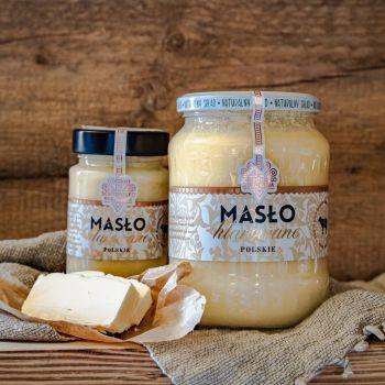 świeże Masło klarowane - mały słoik