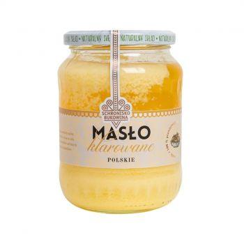 Masło klarowane pakujemy do szklanego słoika