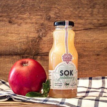 Sok tłoczony 100 procent jabłko