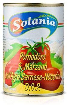 Solania to pomidory gatunku san marzano