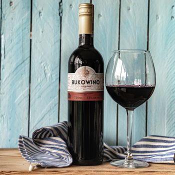 Wino Bukowina czerwone 750 ml