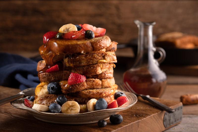 jeśli nie wiesz, co zjeść na śniadanie, zrób tosty francuskie