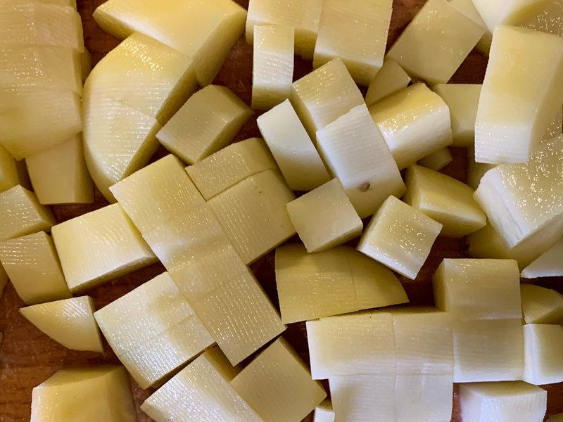 kwaśnica obrane ziemniaki
