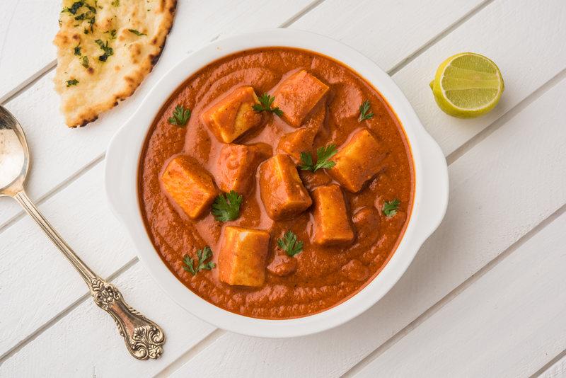 pomysł na obiad curry z tofu